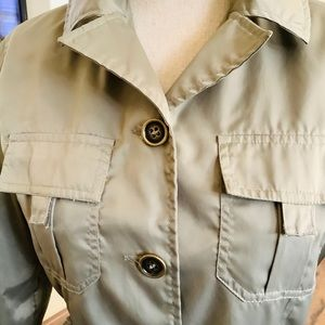 Military Style light Weight Nylon Jacket